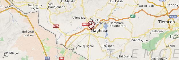 Carte Algerie Maghnia.Maghnia Atlas Tellien Guide Et Photos Algerie