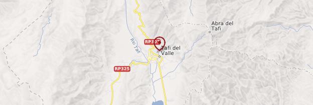 Carte Tafí del Valle - Argentine