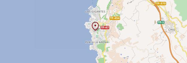 Carte Puerto de Santiago - Tenerife