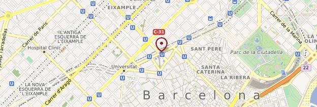 Carte Eixample Barcelone.Peripherie De Barcelone Guide Et Photos Barcelone Routard Com