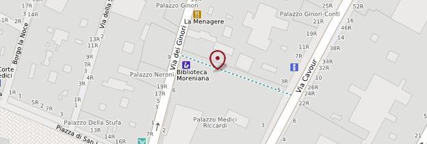 Carte Palazzo Medici Riccardi - Florence