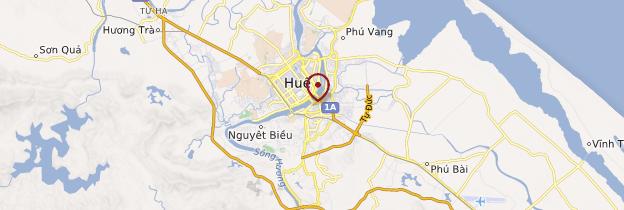 Carte Pagode de Tu Hieu - Vietnam