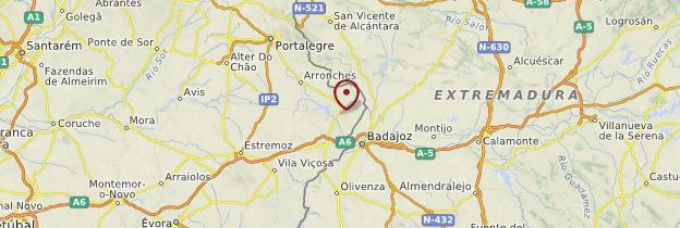 Carte Campo Maior - Portugal