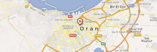 Carte Opéra d'Oran - Algérie