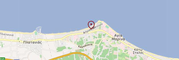 Carte Agia Marina - Crète