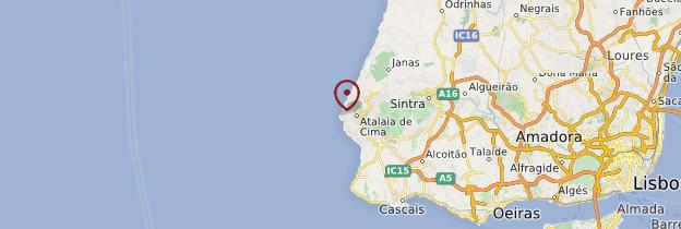 Carte Cabo da Roca - Portugal