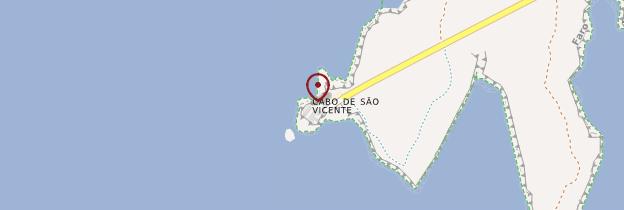 Carte Forteresse de Sagres - Portugal