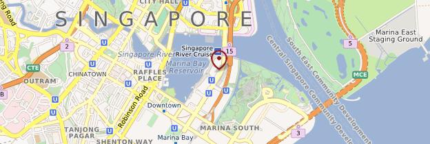 Carte Sands Skypark (Marina Bay Sands Hotel) - Singapour