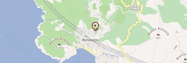 Carte Bonassola - Italie