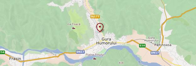 Carte Gura Humorului - Roumanie