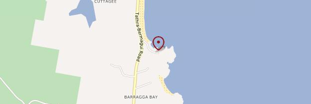 Carte Cutagee Beach - Australie