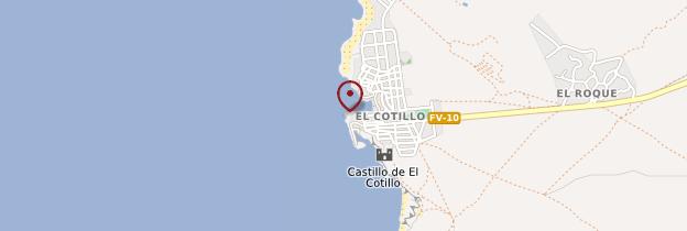 Carte El Cotillo - Canaries
