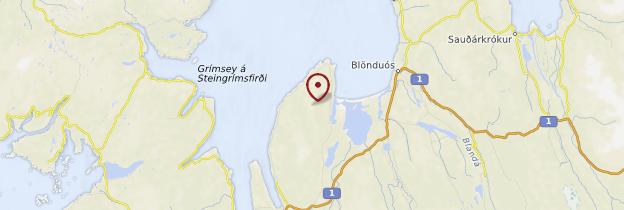 Carte Péninsule de Vatnsnes - Islande