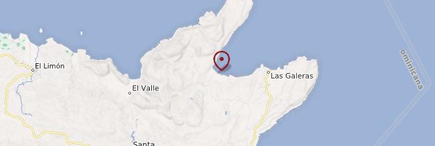 Carte Playa Rincón - République dominicaine