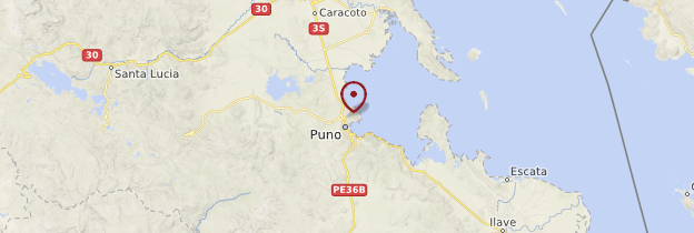 Carte Puno - Pérou