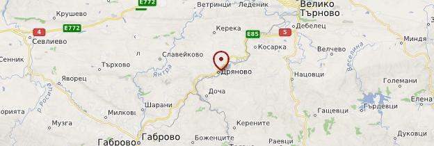 Carte Dryanovo - Bulgarie