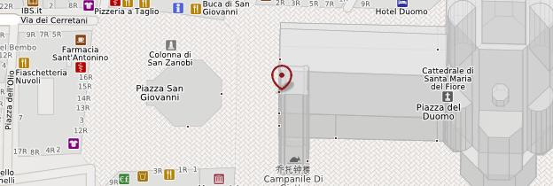 Carte Cattedrale Santa Maria del Fiore ou Duomo - Florence