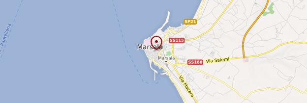 Carte Marsala - Sicile