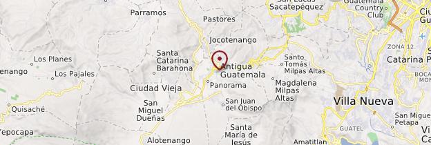 Carte Antigua - Guatemala