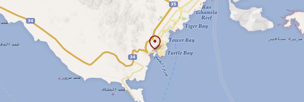 Carte Sharm el-Sheikh - Égypte