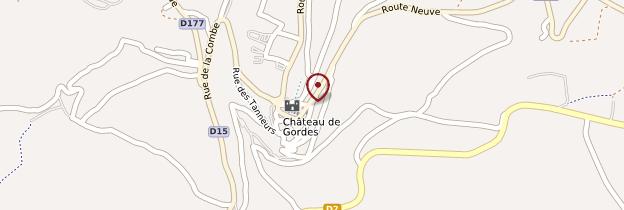 Carte Gordes - Provence