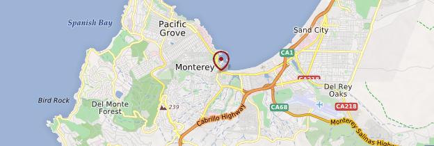 Carte Monterey - Californie