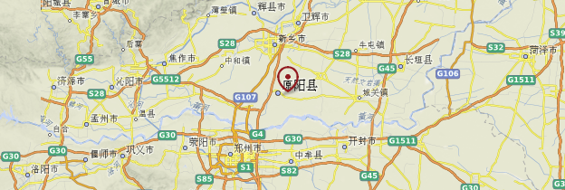 Carte Yuanyang - Chine