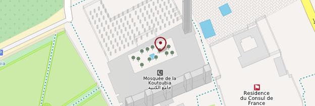 Carte Minaret de la Koutoubia - Marrakech