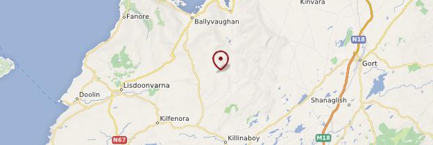 Carte Burren - Irlande