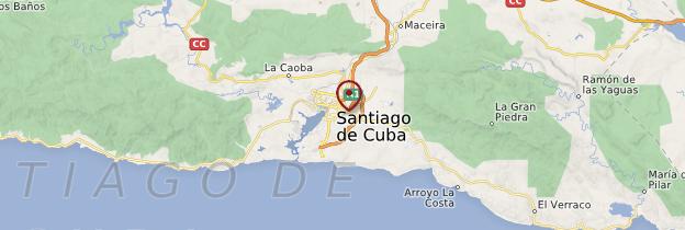 Carte Santiago de Cuba - Cuba