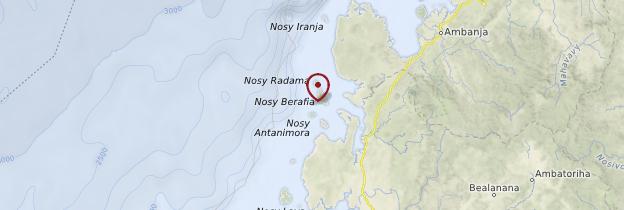 Carte Îles Radama - Madagascar