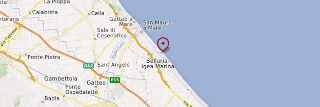 Carte Italie Bellaria.Bellaria Igea Marina Emilie Romagne Guide Et Photos