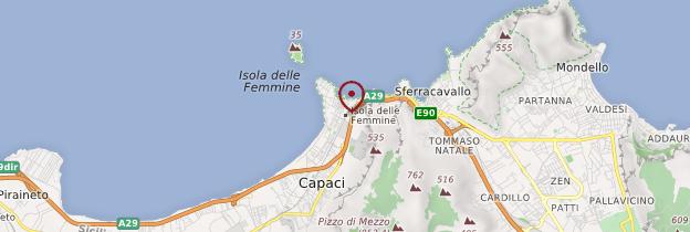Carte Isola delle Femmine - Sicile