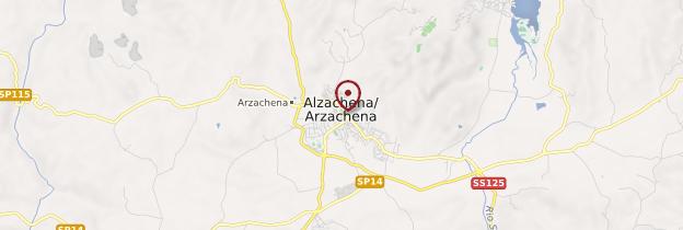 Carte Arzachena - Sardaigne