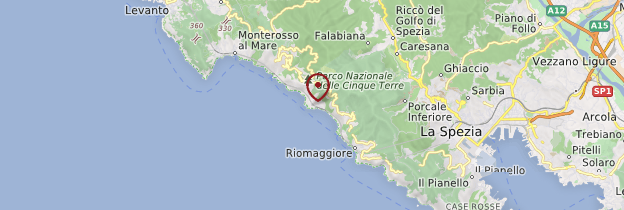 Carte Corniglia - Italie