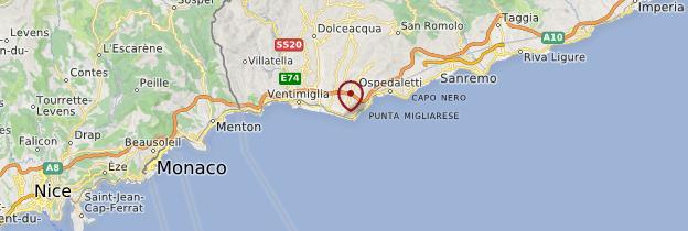 Carte Bordighera - Italie