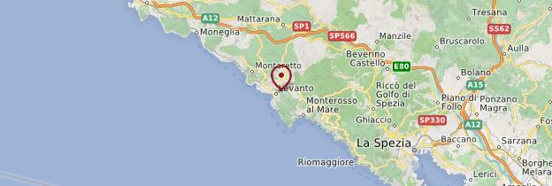 Carte Levanto - Italie