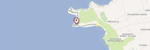 Carte Pointe de Dinan - Bretagne