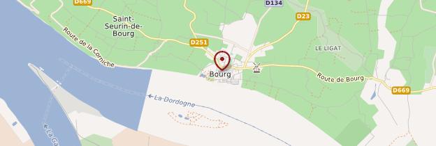 Carte Bourg - Aquitaine - Bordelais, Landes