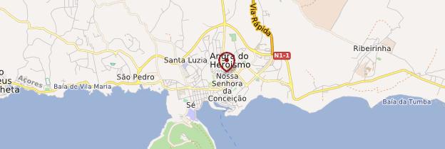 Carte Angra do Heroismo - Açores