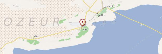 Carte Eden Palm - Tunisie
