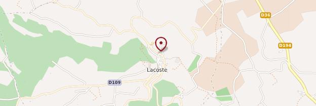 Carte Lacoste - Provence