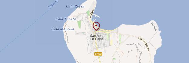 Carte Chiesa di San Vito - Sicile