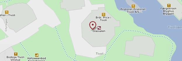 Carte Tivoli - Copenhague