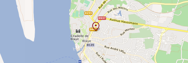 Carte Blaye - Aquitaine - Bordelais, Landes