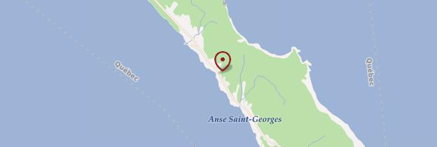 Carte L'Anse-Blanchette - Québec