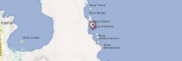 Carte Baie de Sakalava - Madagascar