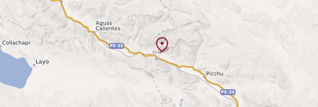 Carte Abra la Raya - Pérou