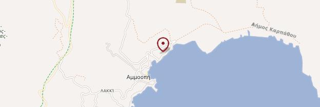 Carte Ammoopi - Îles grecques