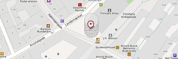 Carte Rundetårn (Tour ronde) - Copenhague